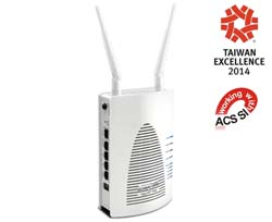 The AP900 is a powerful WiFi access point and a 4 port gigabit switch