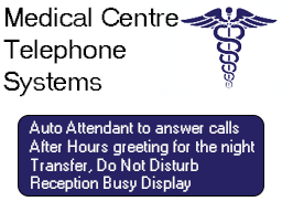 Medical centre telephone system